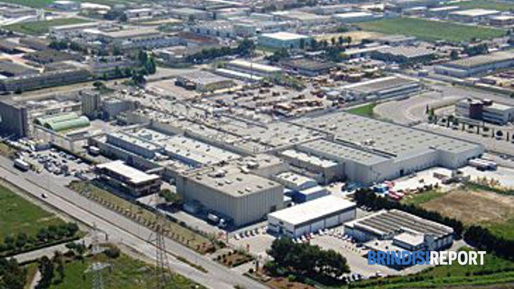 Brindisi, uno scorcio della zona industriale
