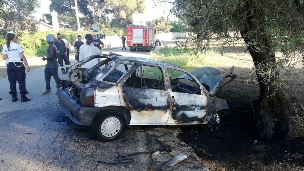 Incidente bracciante agricolo strada per Apani 4-2