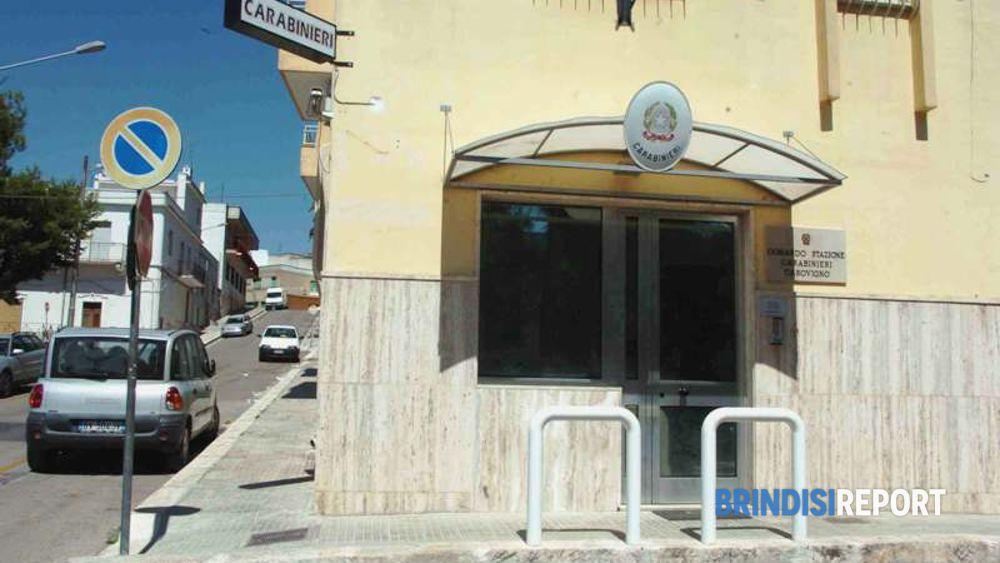 La stazione carabinieri di Carovigno