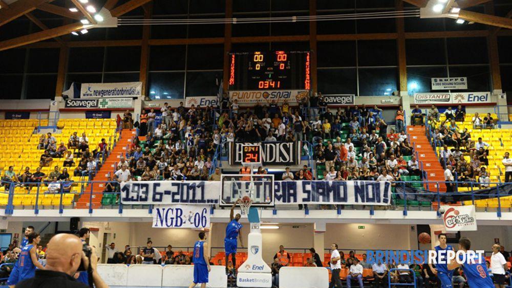 Tifosi dell'Enel Basket (ph V.Massagli)
