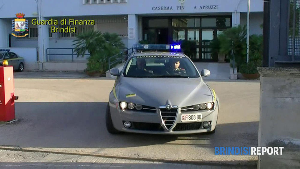 Il comando provinciale della Guardia di Finanza a Brindisi