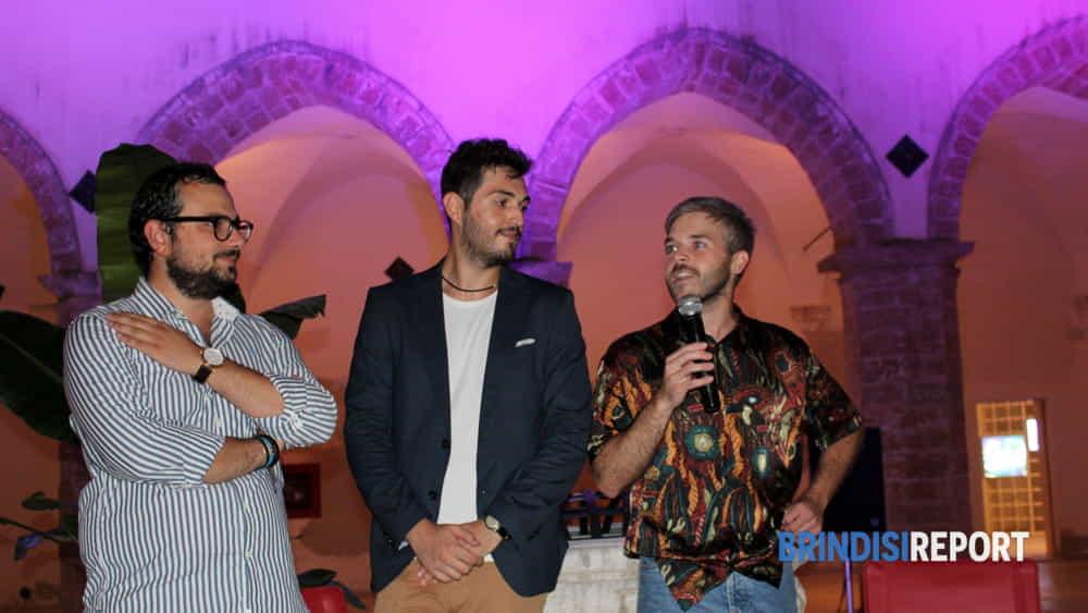 Da sinistra, Carlo Bruno Aversa, Giuseppe Patisso e Vitantonio Tasco-2