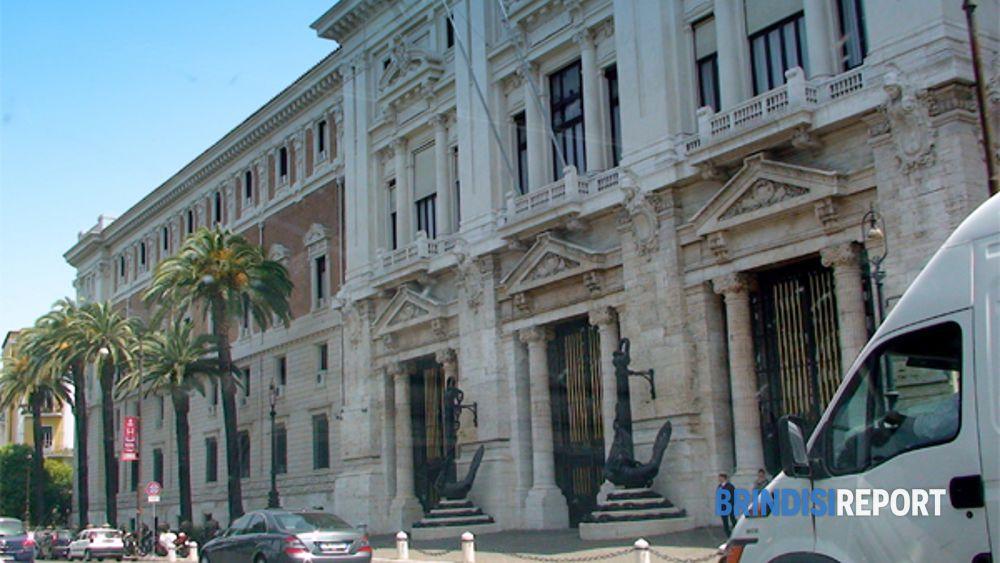Il palazzo della Marina Militare a Roma