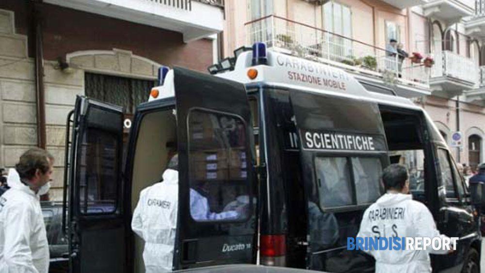Carabinieri del Sis sul luogo del duplice omicidio