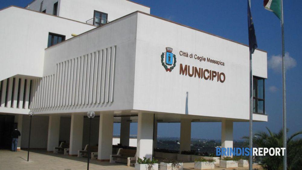 Il municipio di Ceglie Messapica