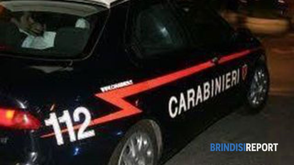 Carabinieri alla ricerca dei rapinatori