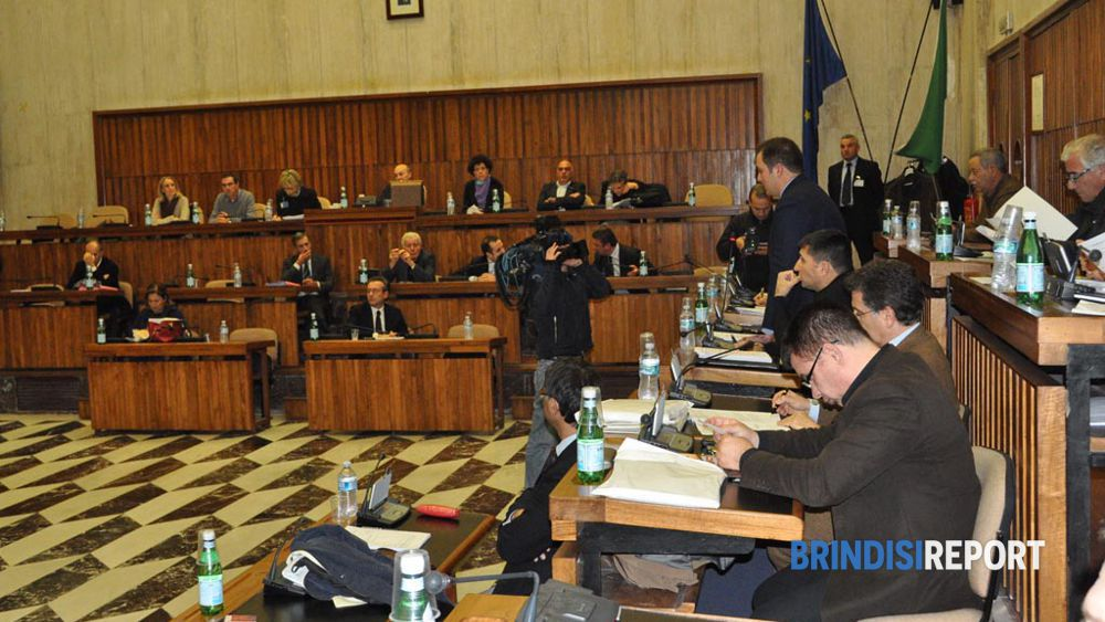 Il Consiglio comunale di Brindisi