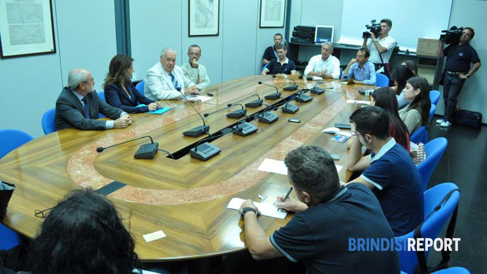 La conferenza stampa in Autorità Portuale