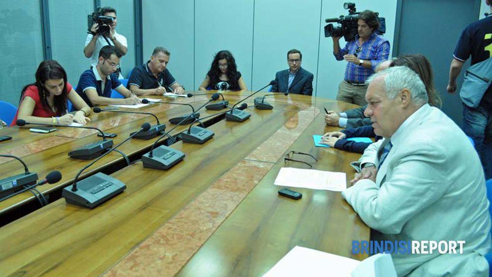 La conferenza stampa di Lolli
