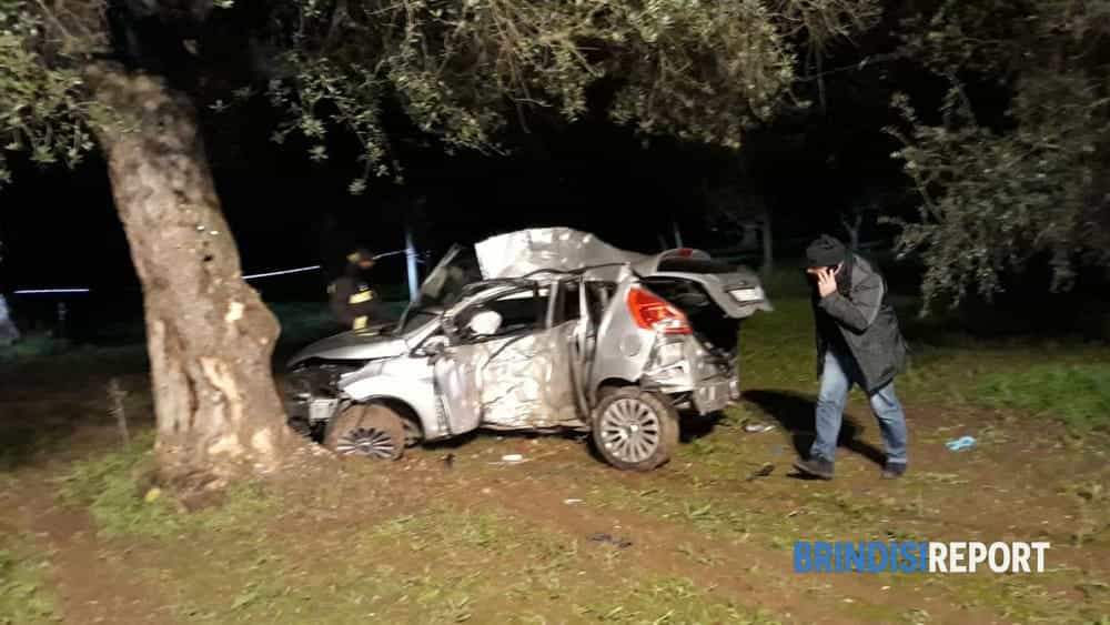 Incidente mortale Torchiarolo 4-2
