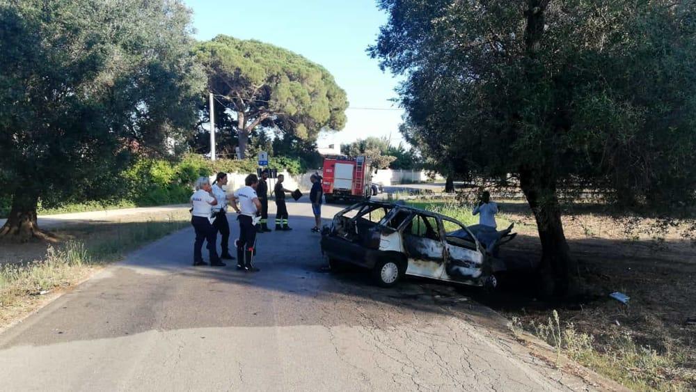 Incidente bracciante agricolo strada per Apani 5-2
