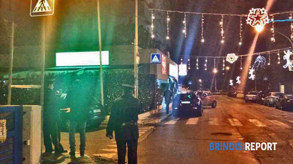 Il luogo dell'attentato a Bozzano