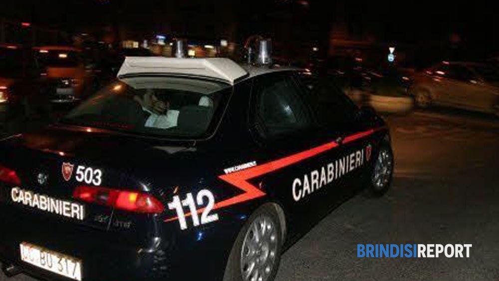 Una radiomobile dei carabinieri