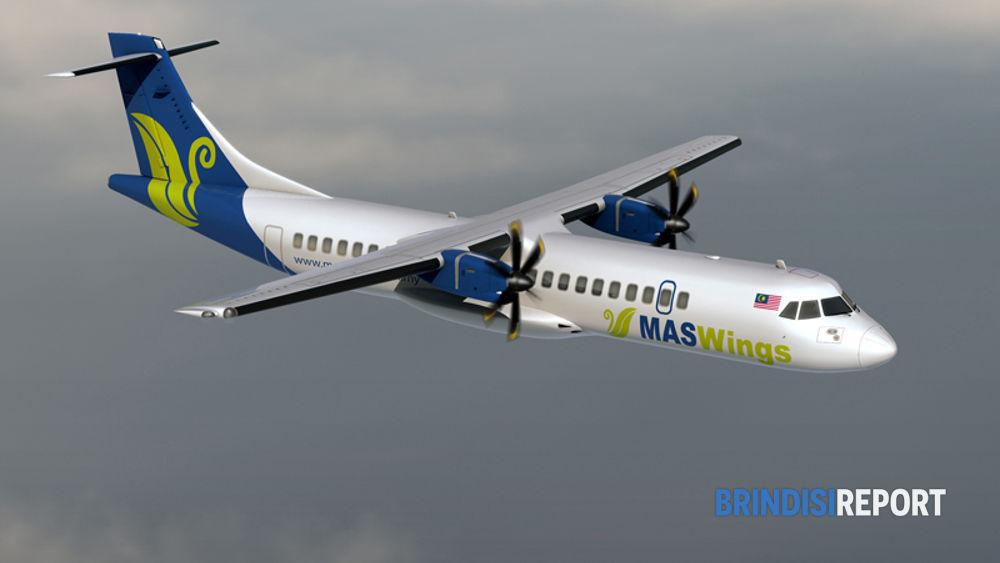 ATR-72 con la livrea di MasWings
