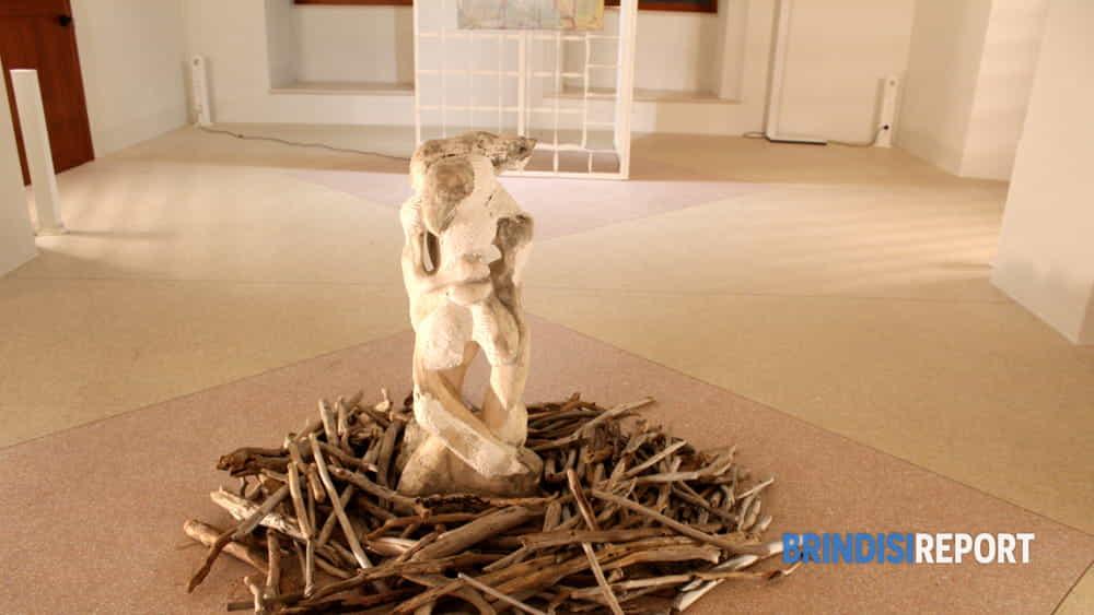 Un'installazione di Donato Bruno Leo-2