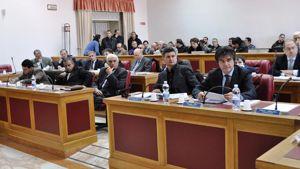 I banchi del consiglio provinciale