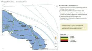 Mappa incidentalità strade provincia di Brindisi-2