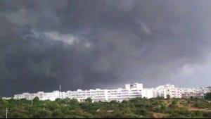 Il fronte della tempesta del 10 luglio 2019-2