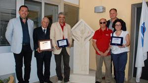 Inaugurazione stele donata al Comune