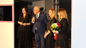 Il questore Ferdinando Rossi e l'ispettore Maria Giovanna Leone-2