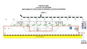 Amplimento strutture di controllo extra-Schengen, fase 2