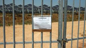 Uno degli impianti sequestrati a San Donaci dal Noe di Lecce