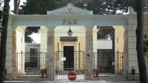 L'ingresso del cimitero di San Pancrazio