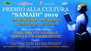 Manifesto Premio alla Cultura Samadi 2019-2