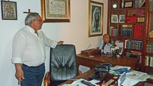 L'avvocato Raffaele Missere e Cosimo Parato