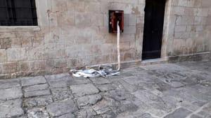 Raid vandalico castello Ceglie Messapica 3-3