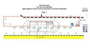 Ampliamento struttura di controllo extra-Schengen, fase 1