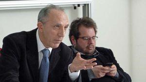 Paolo Melchiorre e, a destra, Pierpaolo Lala