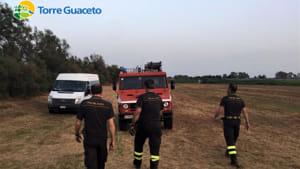 Incendio canneto torre Guaceto 3-2-2