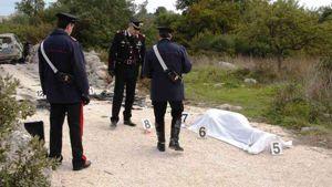 Il cadavere di Cosimo Semeraro