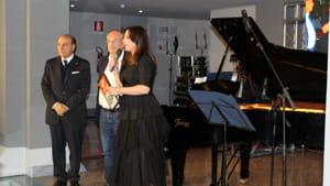 Da sinistra, Umberto Guidato, Riccardo Rossi e Annagrazia Angolano-2