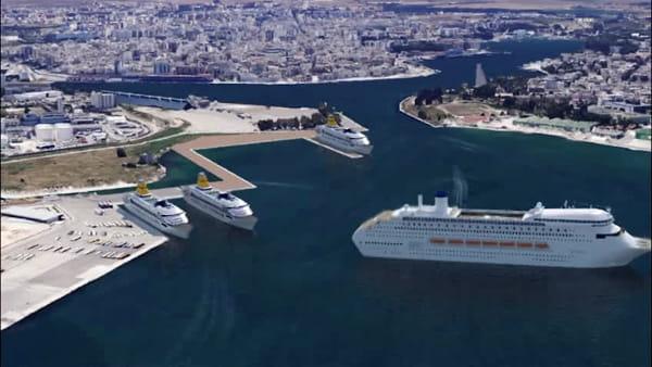 Il progetto che cambierà il porto di Brindisi: la bozza del video