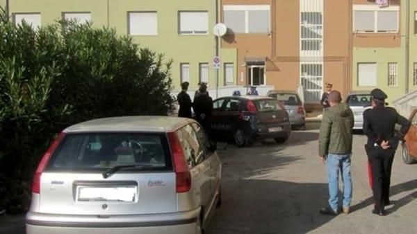 Omicidio Cosimo Tedesco, rilievi sul luogo della sparatoria 5-2-2-2