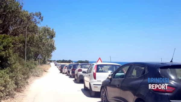 Guaceto: versante Apani dell'Area marina protetta in balia delle auto