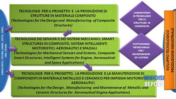 Lo schema della azioni del piano di sviluppo del Dta