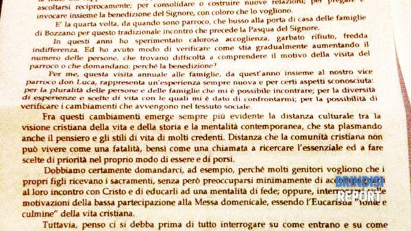 La lettera ai parrocchiani di don Francesco Caramia