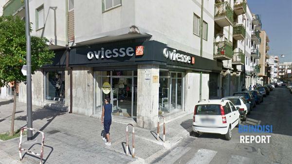 Lo store Oviesse di Brindisi