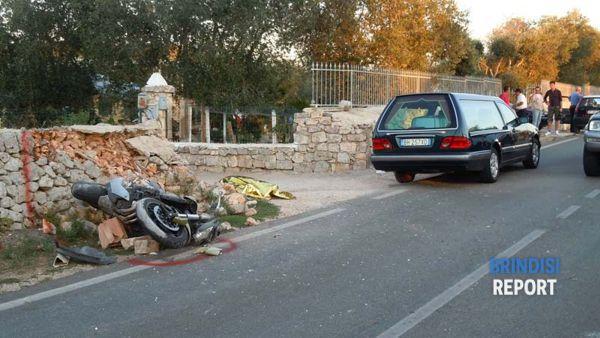 Il luogo dell'incidente in cui ha perso la vita Giuseppe Albanese