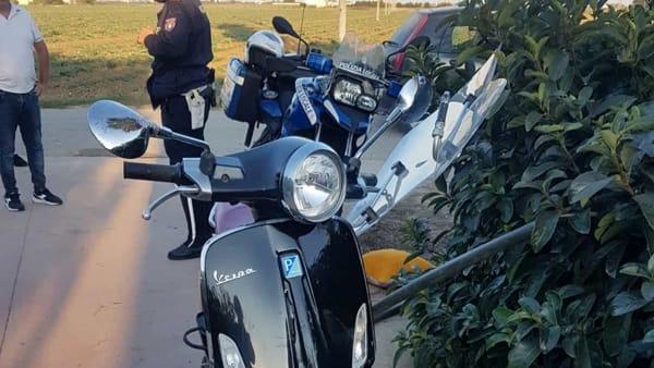 Incidente strada Palmarini 4-2