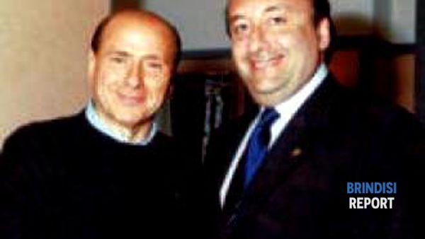 Una vecchia foto di Berlusconi e Vitali