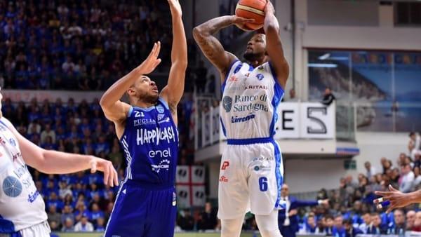 sassari-brindisi gara 2 playoff 2019-2