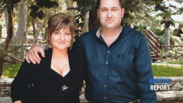 Rosaria Semeraro e il marito Michele Galeandro