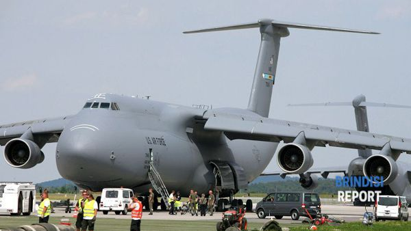 Berlin Air Show, un C-5 Galaxy