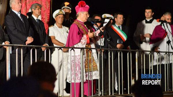 L'arcivescovo Rocco Talucci (ph V.Massagli)