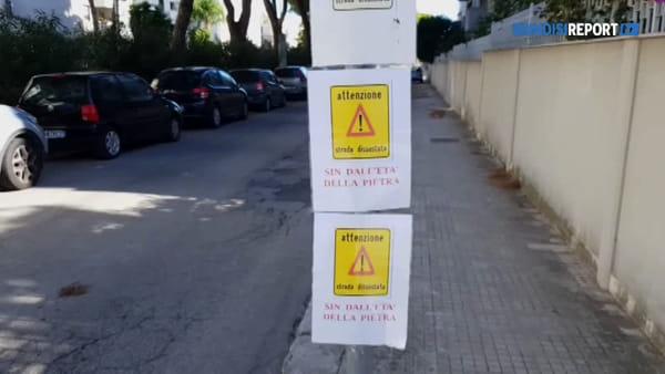 """Buche e sconnessioni in viale Belgio: """"Da anni la strada è in questo stato"""""""