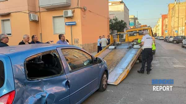 Incidente via Umbria-via Sicilia 2-3
